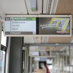 BVB City Kanal Tram. © Photo Dominik Pluess / 10. August 2015