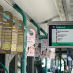 BVB Werbung Bus und Tram. © Photo Dominik Pluess / 24. July 2015